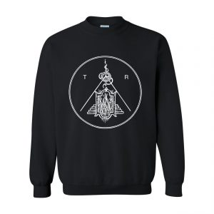Tartarus Logo Crewneck Sweater Black
