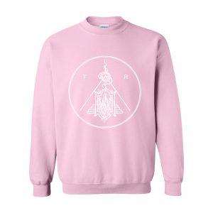 Tartarus Logo Crewneck Sweater Pink